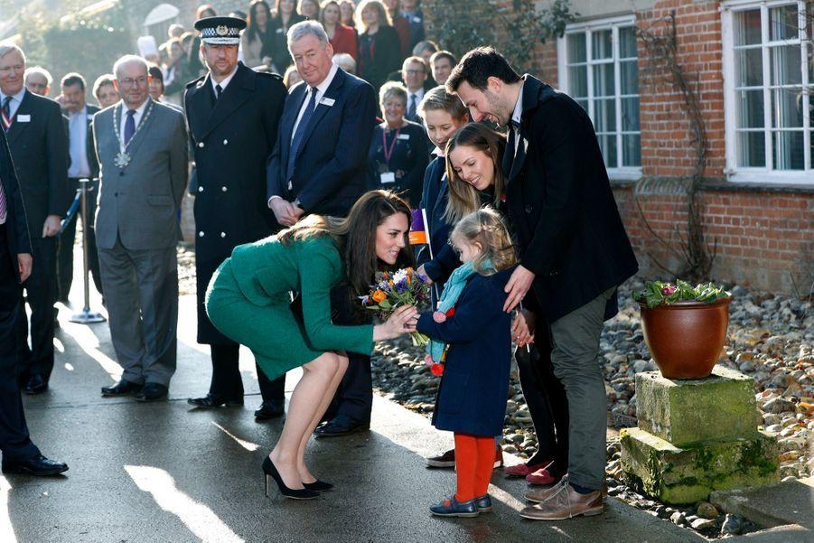Kate Middleton En Visite À Quidenham, Mardi 24 Janvier 2017 2