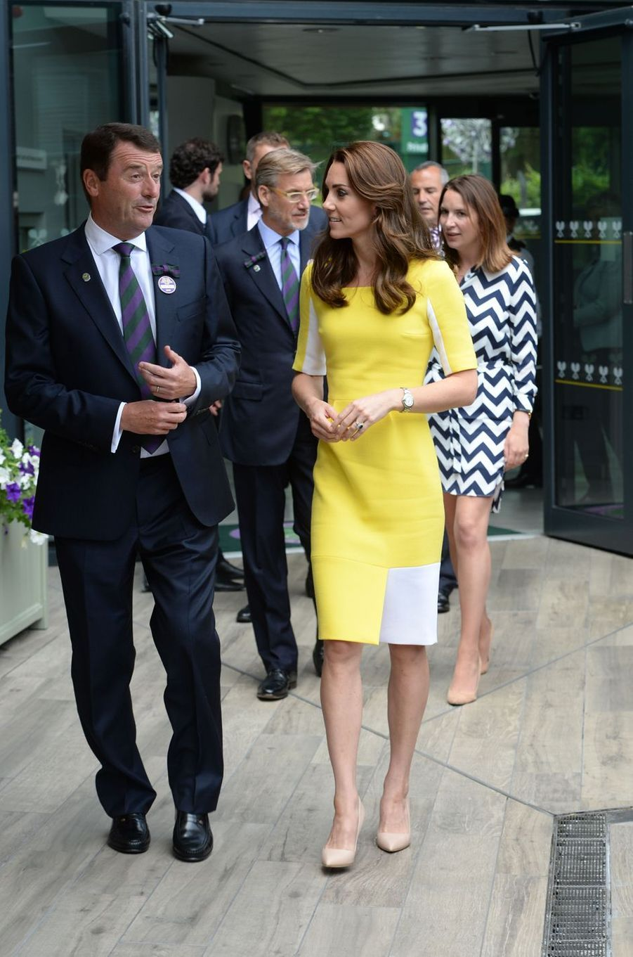 La duchesse Catherine de Cambridge à Wimbledon, le 7 juillet 2016