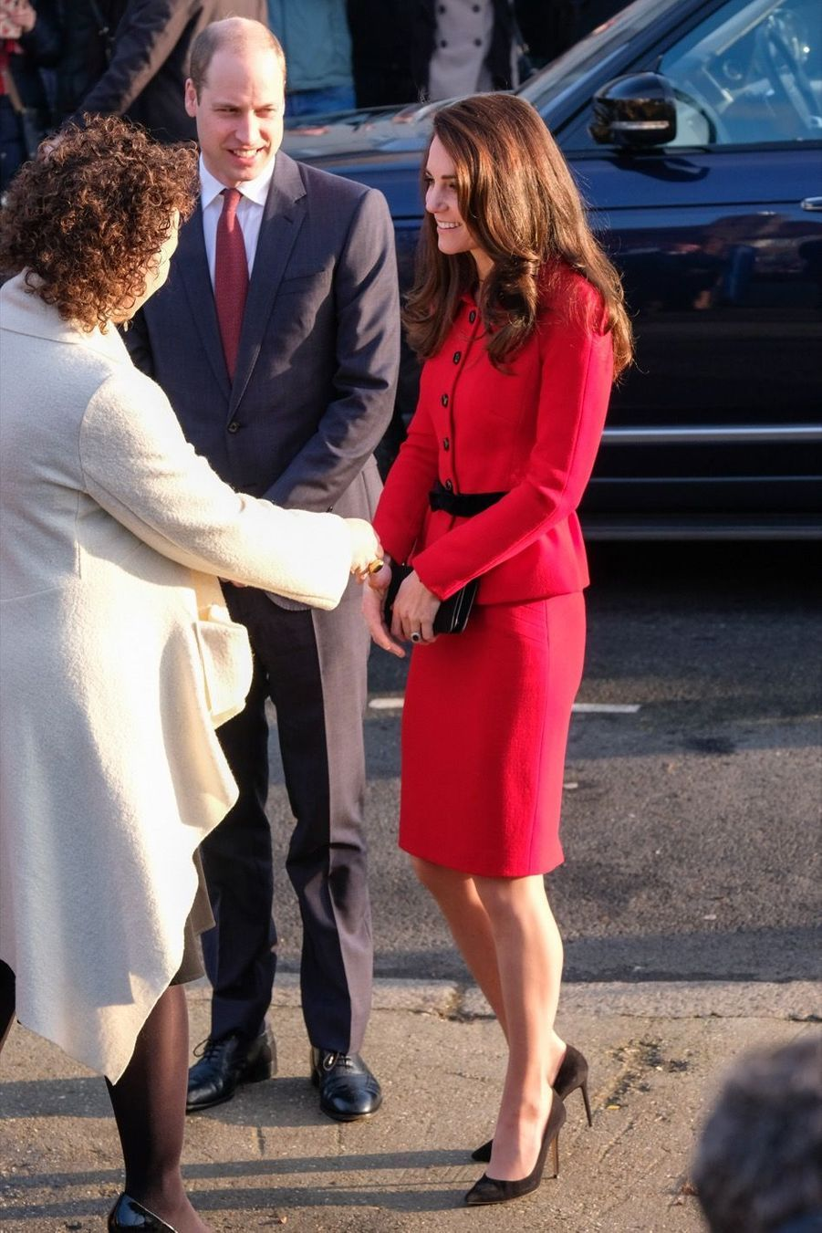 Kate Middleton Et Le Prince William Visitent L'école Primaire Mitchell Brook, À Londres 1