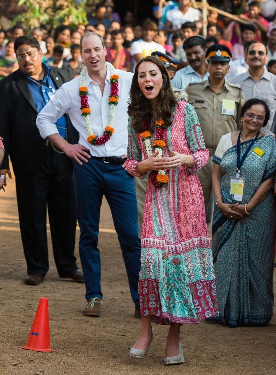 Kate et William : après le cricket, le football