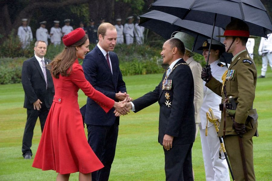 Kate et William au pays des Maoris