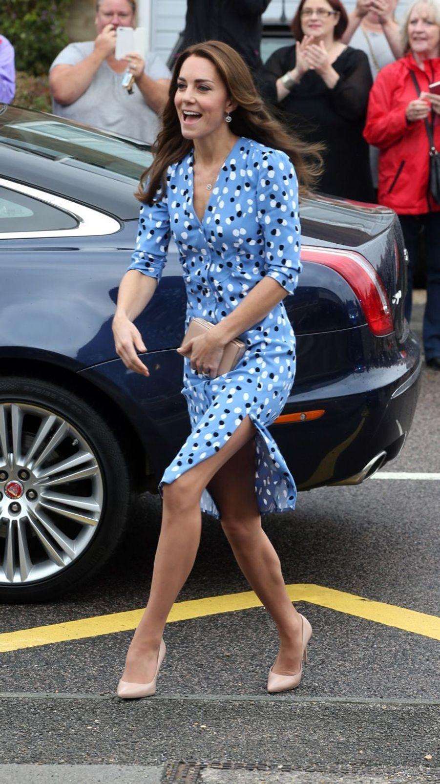 Kate Middleton et le prince William à l'école d'Harlow, vendredi 16 septembre 2016