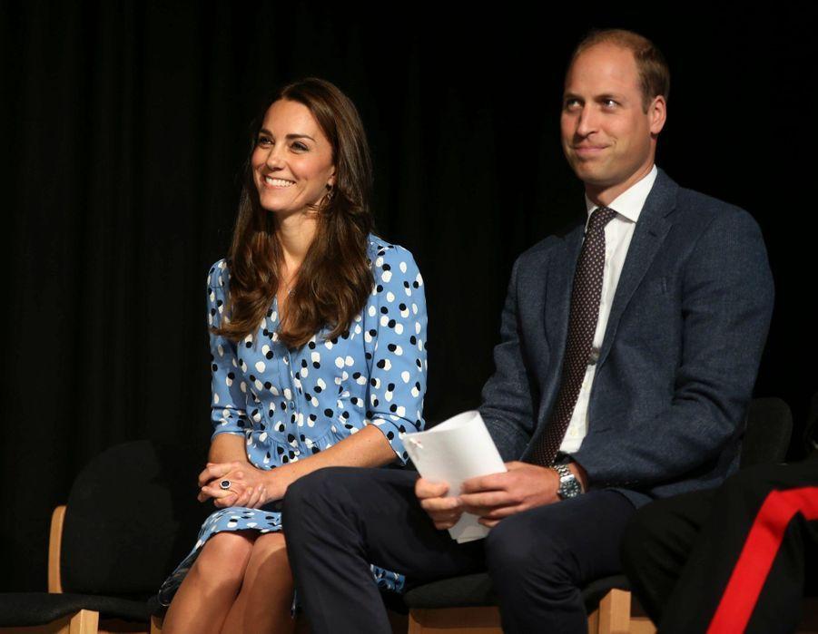 Kate Middleton et le prince William, le 16 septembre 2016
