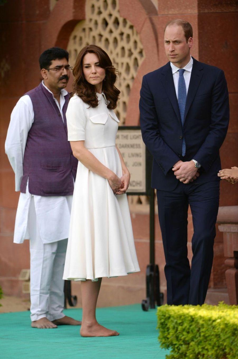 Kate et William, l'hommage à Gandhi
