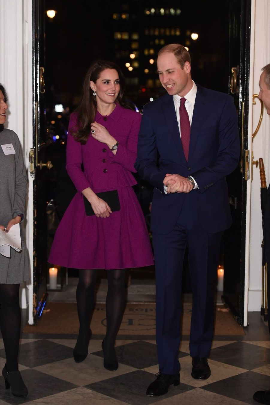 Kate Middleton Et Le Prince William À La Conférence De La Guild Of Health Writers 4