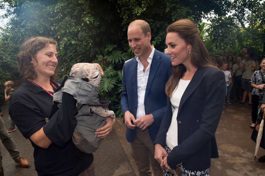 Kate et William au naturel