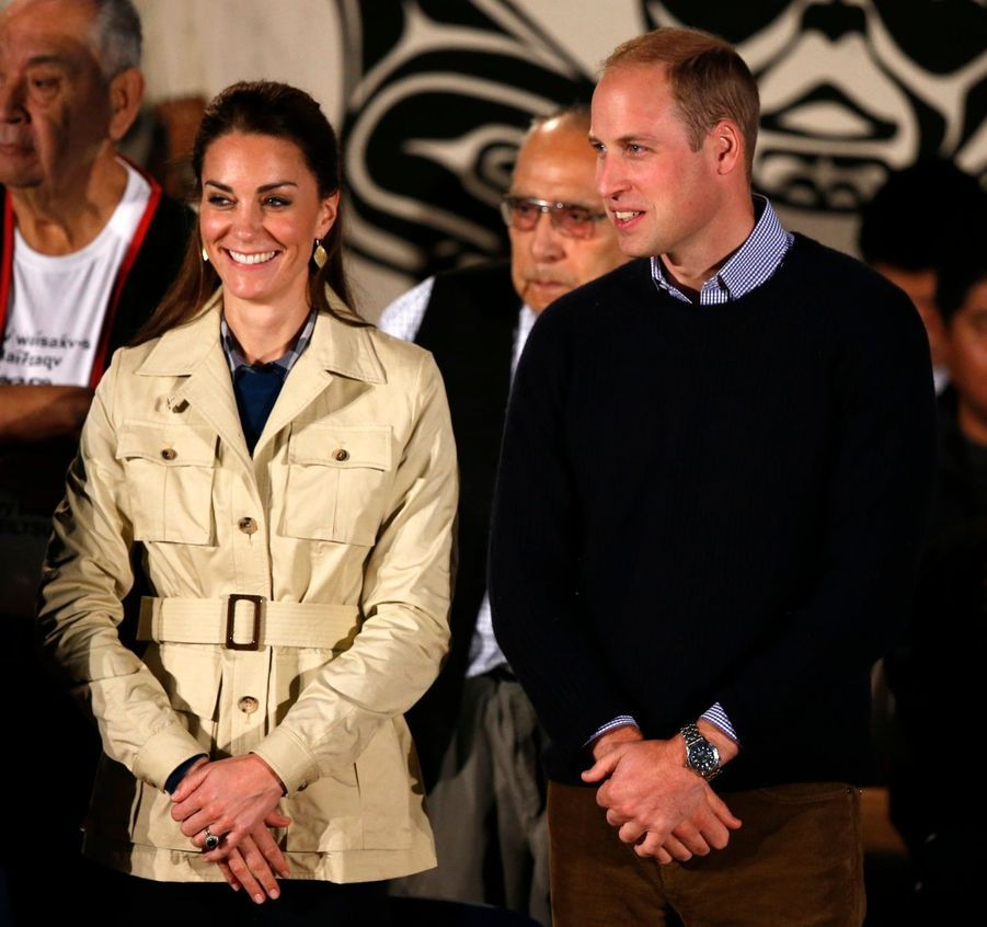 Kate et William sous la Canopée de l'Ouest Canadien