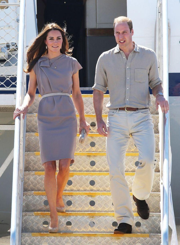 Kate et William sur les terres aborigènes