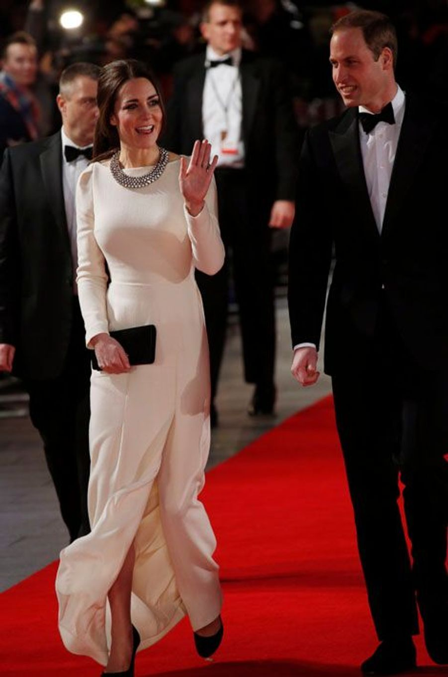 Kate et William, une soirée sous le signe de l'émotion