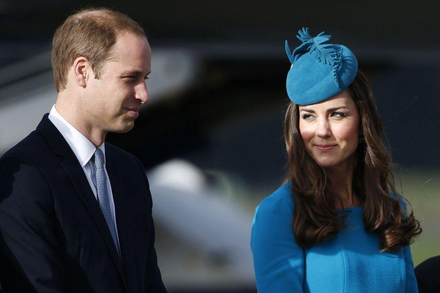Kate et William, visite à grande vitesse