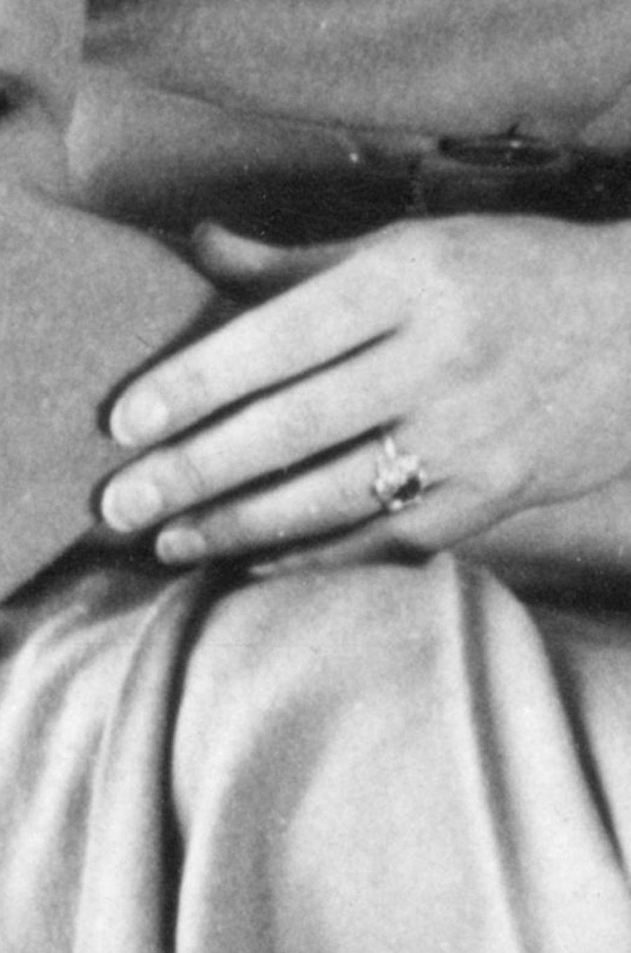 La bague de fiançailles de la princesse Margaret