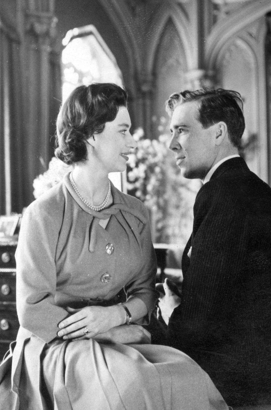 Rubis et diamants pour la princesse Margaret, fiancée à Antony Armstrong-Jones en 1960