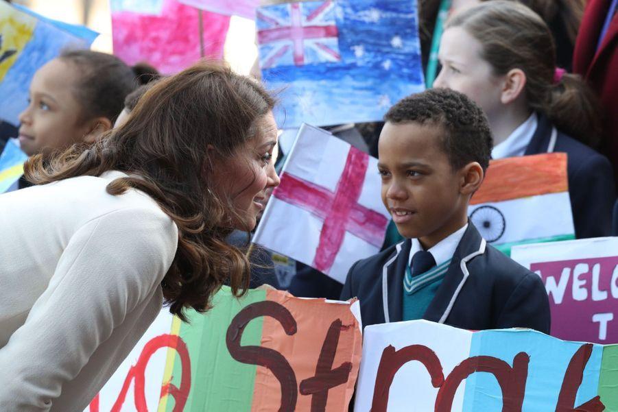 Kate Middleton Enceinte : Une Dernière Apparition Avant Le Congé Maternité     2