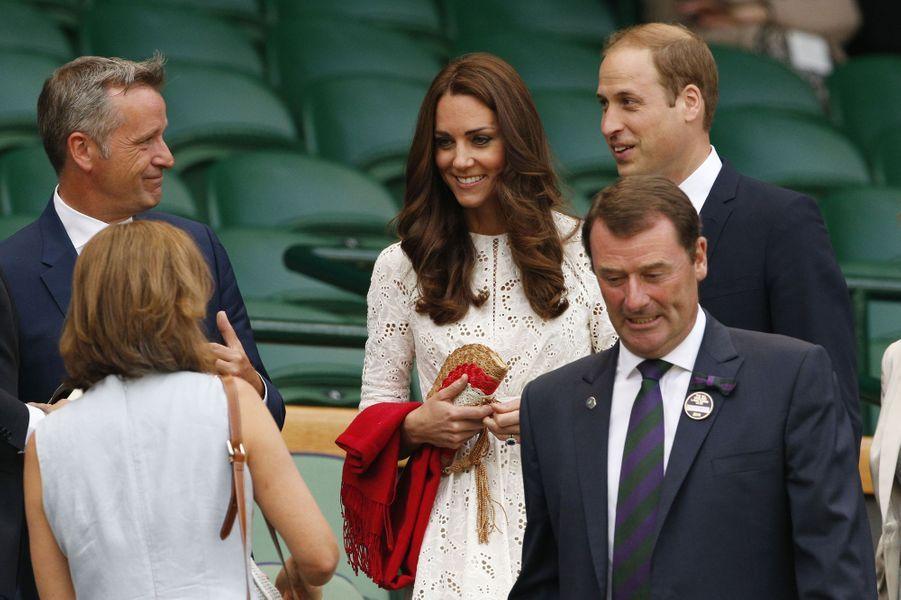 Kate & William à Wimbledon