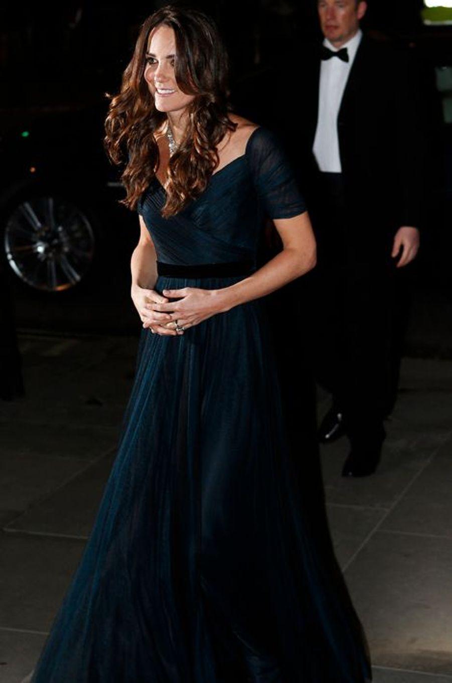 Au gala de la National Portrait Gallery à Londres, le 11 février 2014