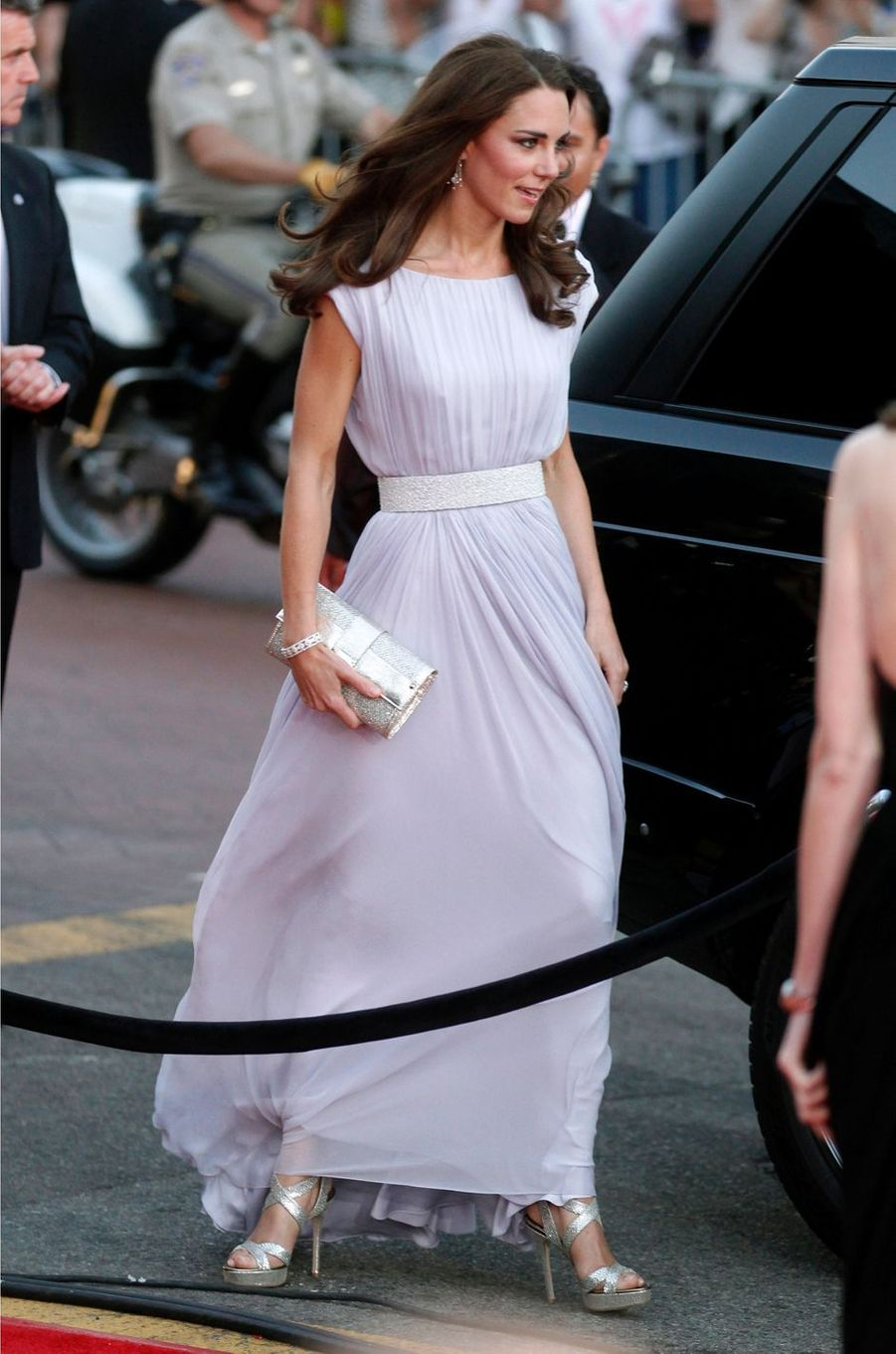 La duchesse de Cambridge, née Kate Middleton, à Hollywood, le 9 juillet 2011