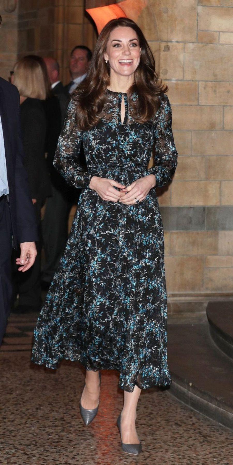 Kate Middleton Au Museum D'Histoire Naturelle De Londres 9