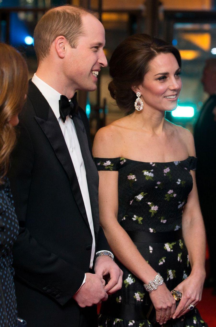 La duchesse Catherine de Cambridge, le 12 février 2017