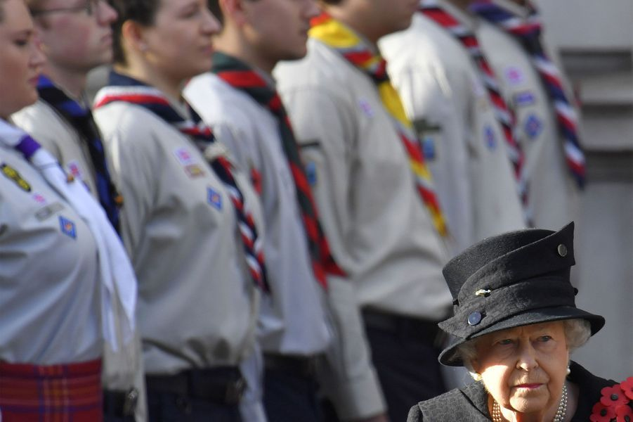 Kate, solennelle pour le Remembrance Sunday