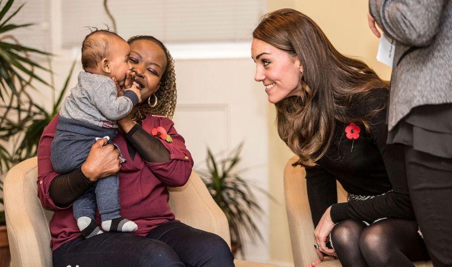 Kate, sourires complices avec baby Gabriel