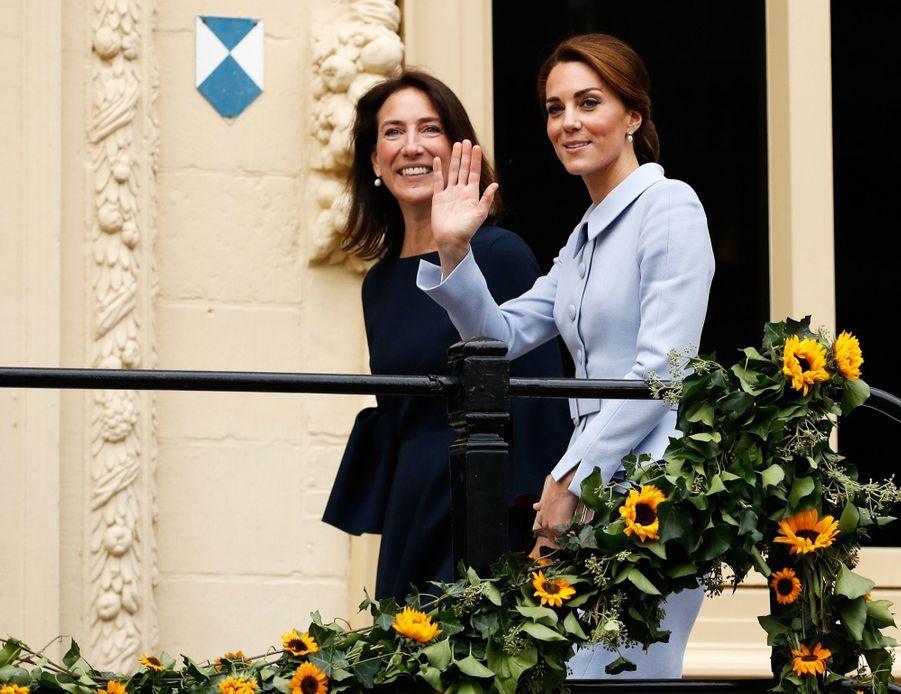 Kate, une passagère royale sur un vol régulier