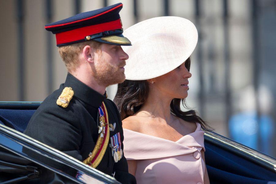 Meghan Markle et le prince Harry à Londres le 9 juin 2018