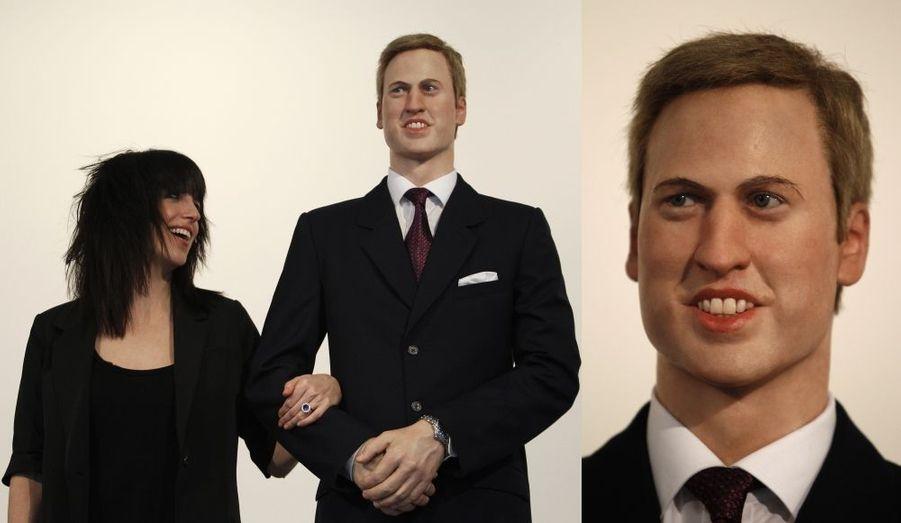 En 2011, à la Galerie Stephen Friedman de Londres, on pouvait poser avec un horrible William avant son mariage.