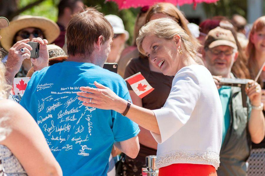 La comtesse Sophie de Wessex à Regina, le 23 juin 2016