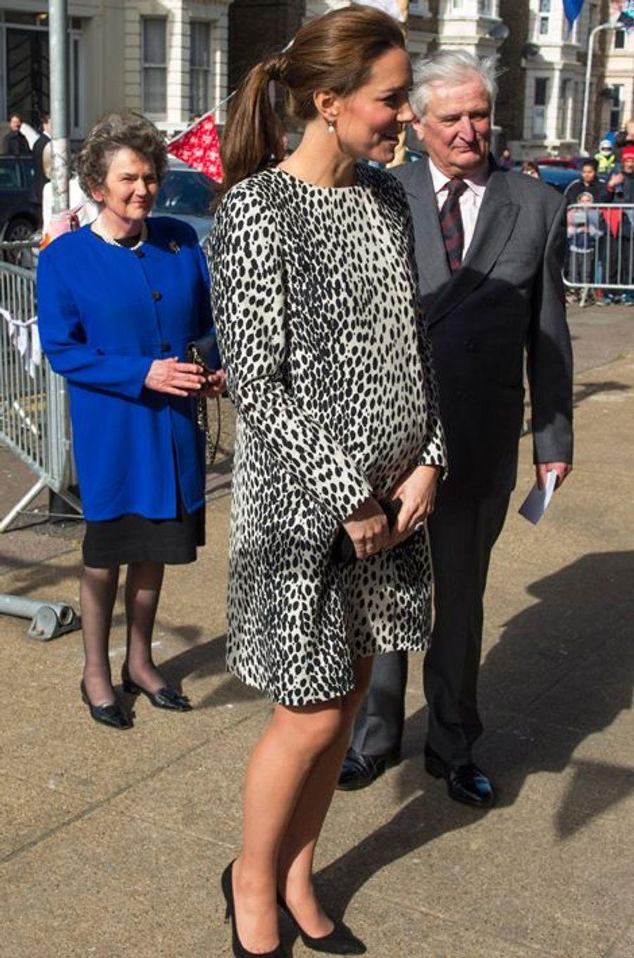 Kate à Margate, le 11 mars 2015