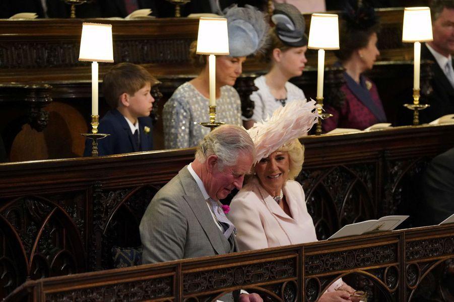 Le prince de Galles etla duchesse de Cornouailles