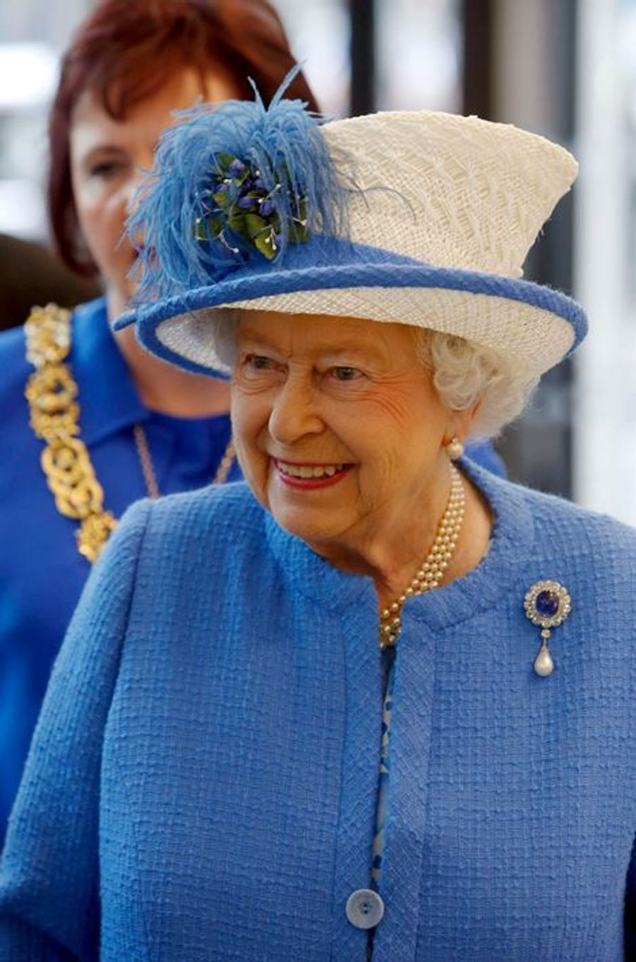 La reine Elizabeth II à Glasgow, le 3 juillet 2015