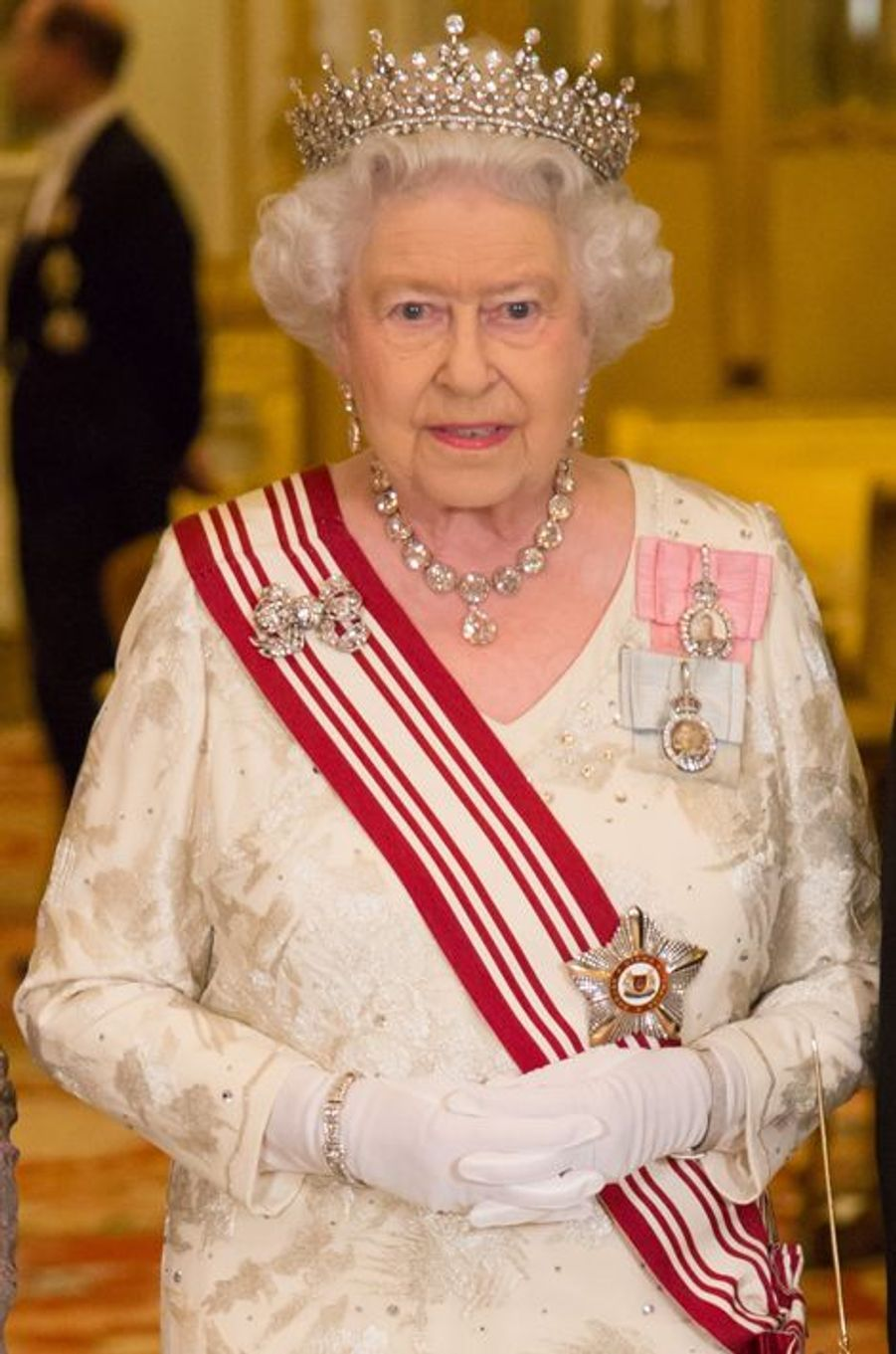 La reine Elizabeth II à Londres le 21 octobre 2014