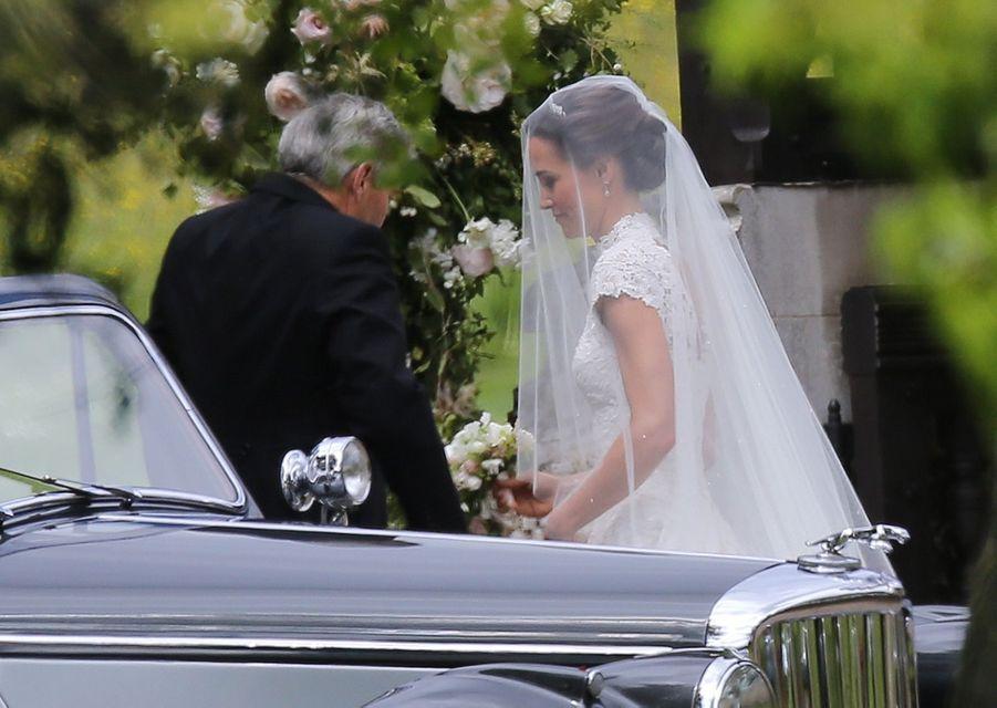 La Robe De Mariée De Pippa Middleton  1