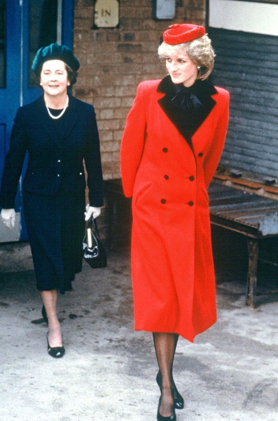 Lady Diana le 2 mars 1984