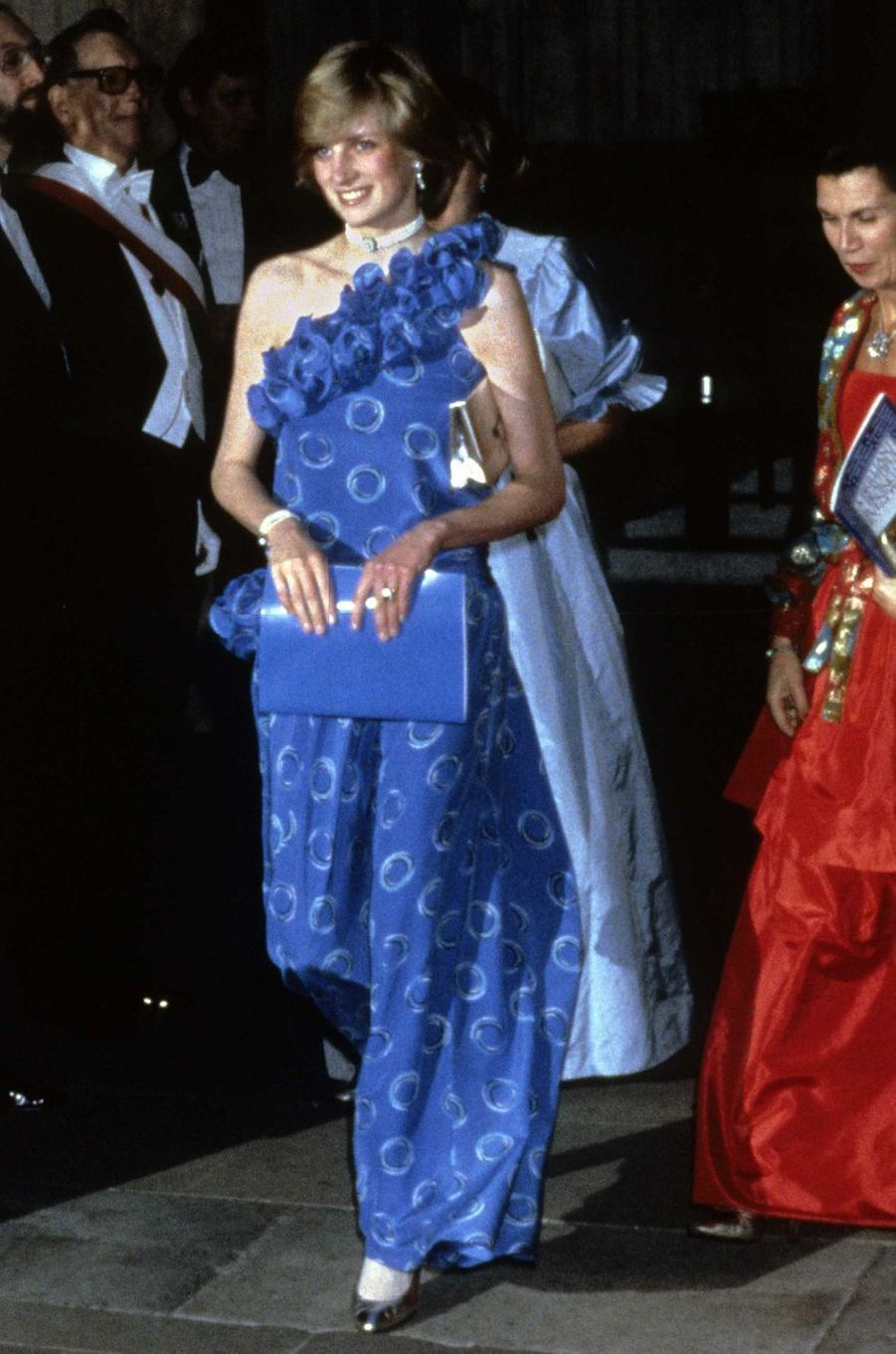 Lady Diana le 9 novembre 1982