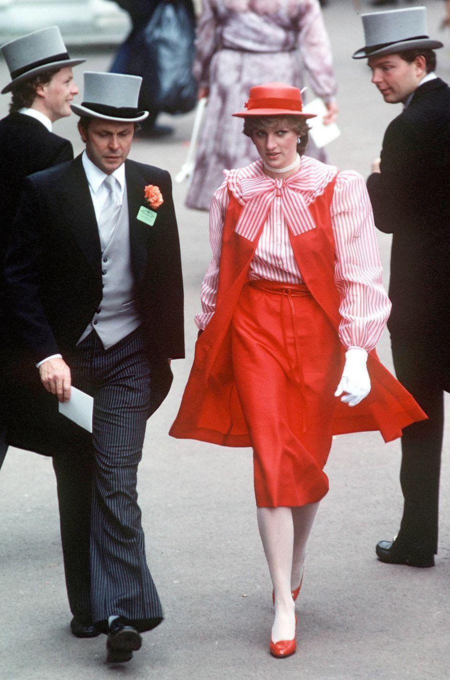 Lady Diana le 18 juin 1981