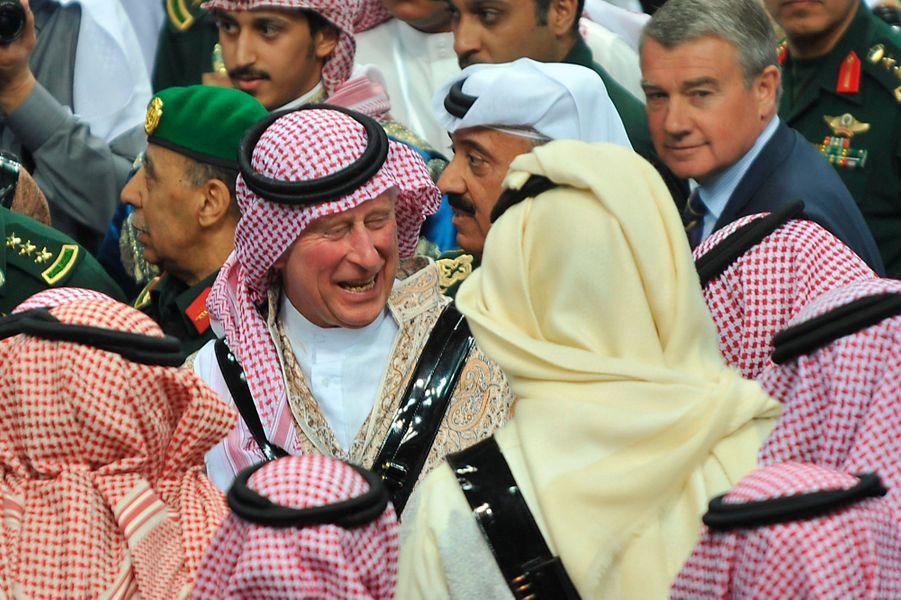 Le cheikh Charles, prince d'Arabie