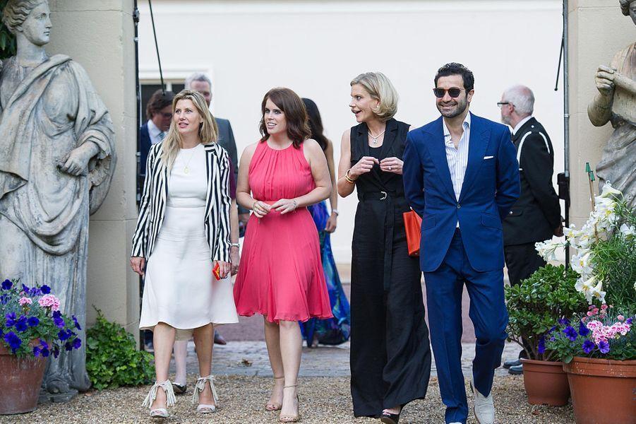 La princesse Eugénie d'York à Clarence House, le 30 juin 2015