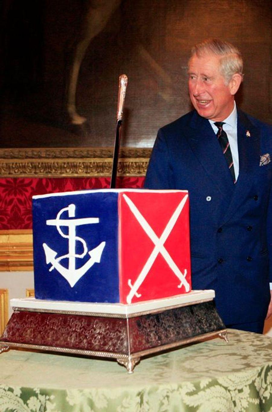 Le Prince Charles fête les 30 ans de la COBSEO à Londres, le 9 décembre 2014