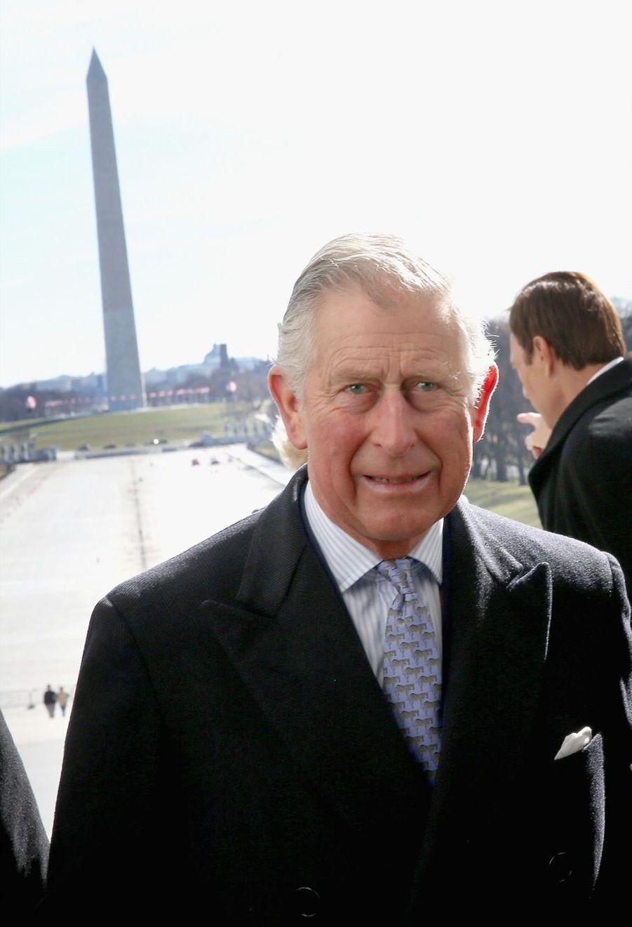 Le prince Charles et son épouse Camilla, le premier jour de leur voyage officiel aux États-Unis