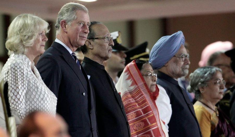 Le Prince Charles avait assisté avec Camilla, à la cérémonie d'ouverture de ces mêmes jeux, à New Dehli.