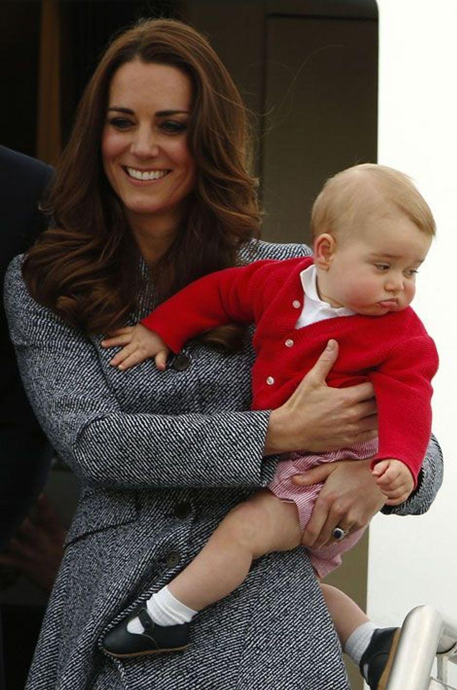 Baby George reprend l'avion