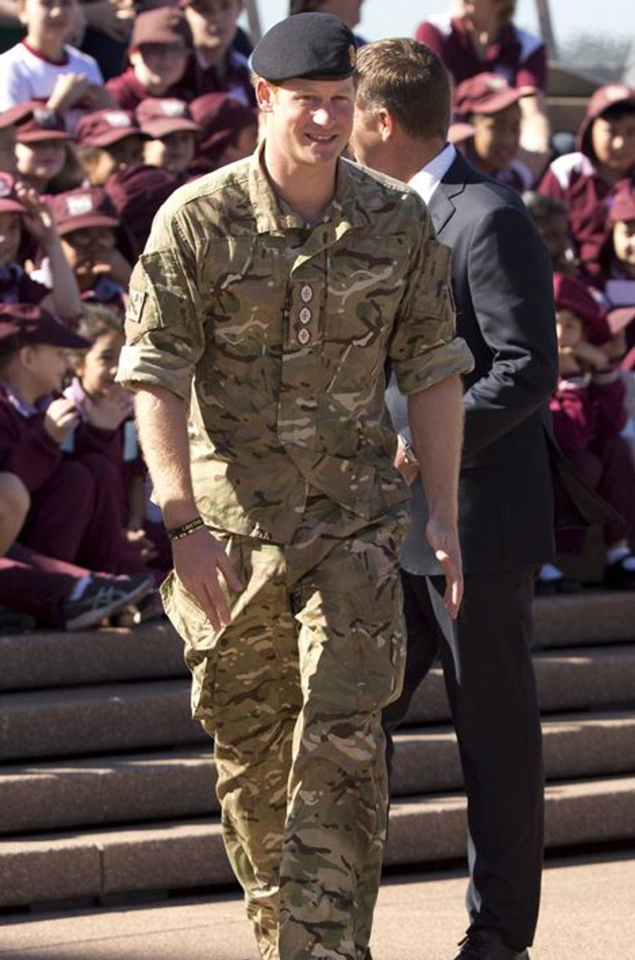Le prince Harry à Sydney, le 7 mai 2015