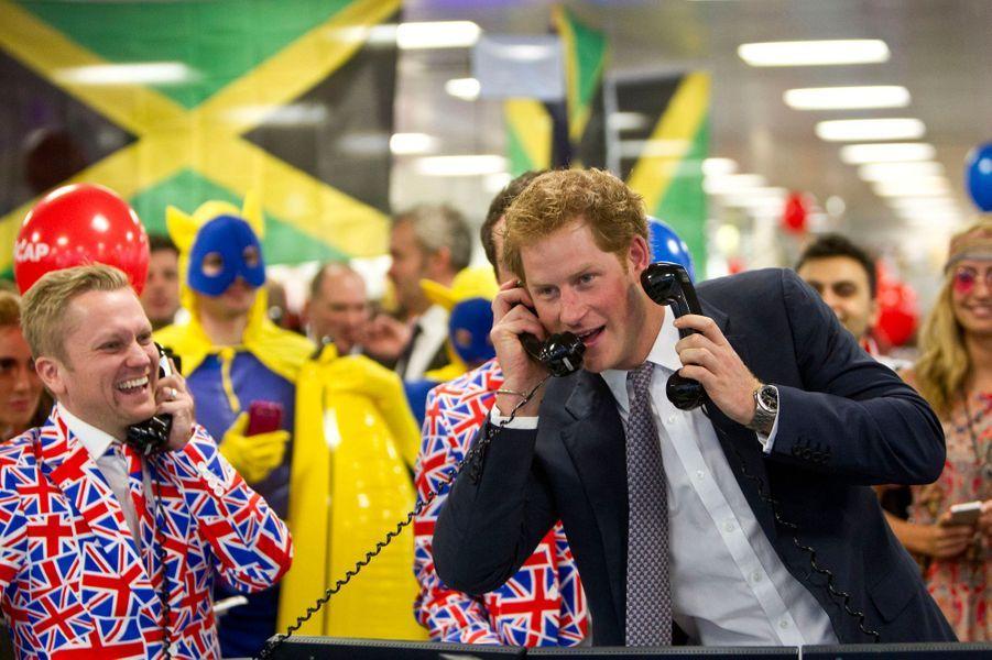 Le prince Harry participe au 22ème Charity Day annuel d'ICAP à Londres, le 3 décembre 2014