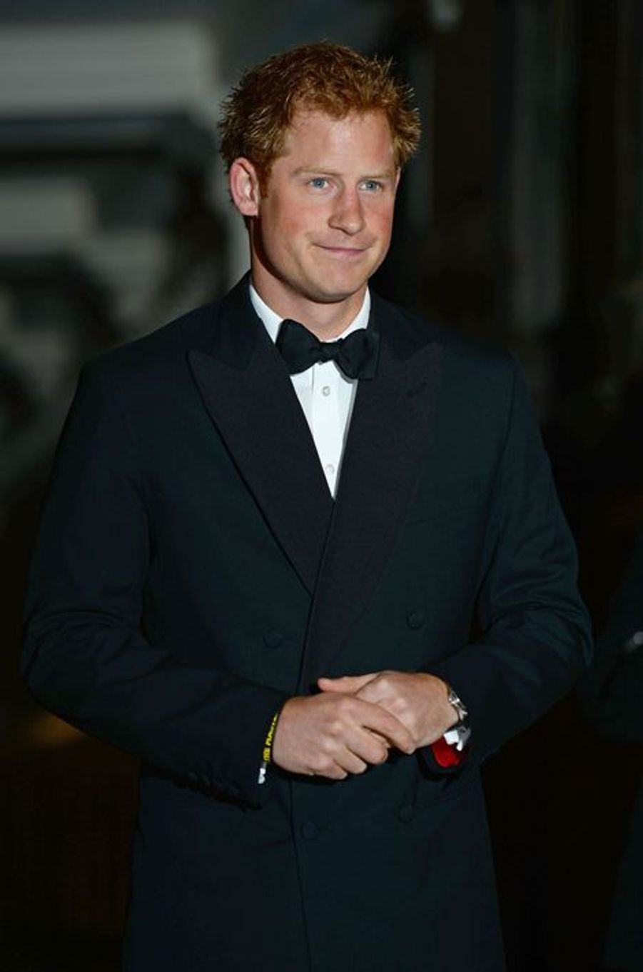 Le prince Harry d'Angleterre parraine le dîner de gala de l'association «100 Women in Hedge Funds» au Royal Hospital Chelsea à Londres, le 1...