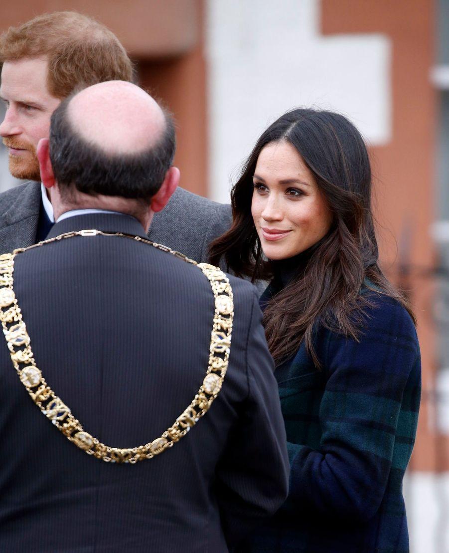 Le Prince Harry Et Meghan Markle En Visite À Édimbourg     2