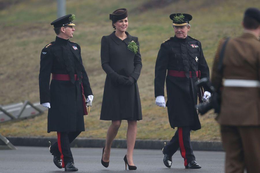 Pour la St Patrick, Kate ne s'est pas mise au vert