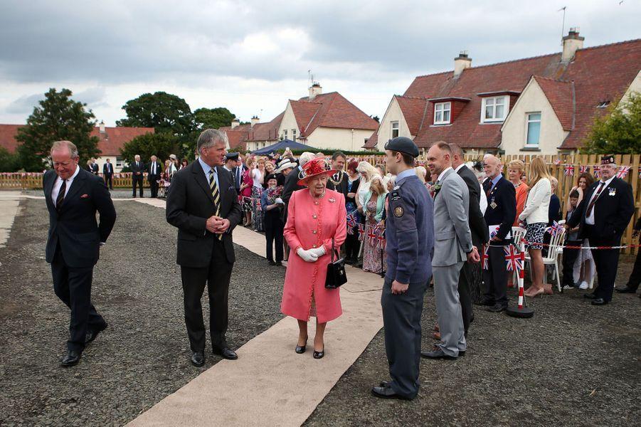 La reine Elizabeth II à Edimbourg, le 2 juillet 2015