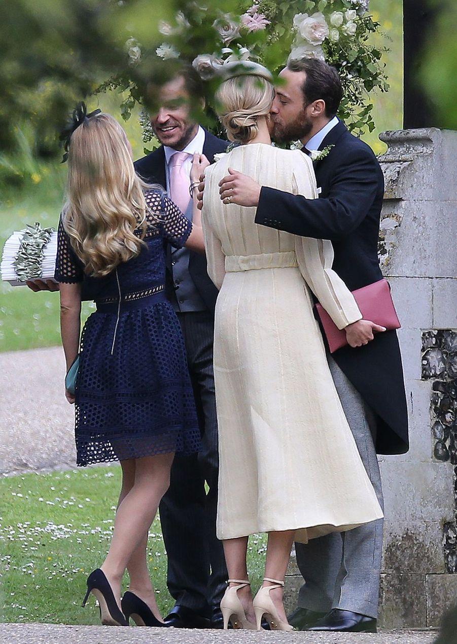 Mariage De Pippa Middleton : James Middleton retrouve sa compagne Donna Air