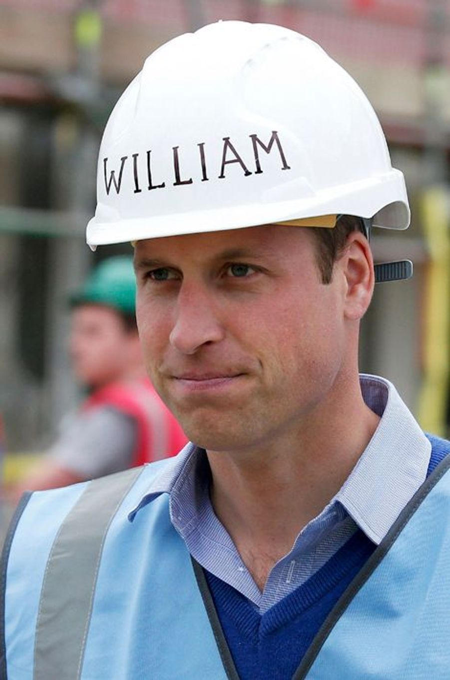 Le prince William à Manchester, le 23 septembre 2015